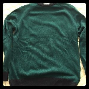 Men's old navy sweater turquoise large